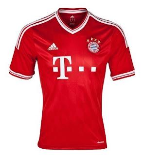 Jersey Grade Ori Bayern Munchen Home season 13/14