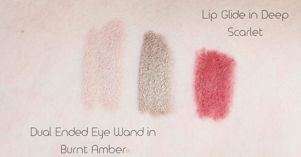 MeMeMe Cosmetics Lip Glide and Eye Wand Review & Swatches