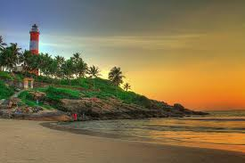 Hawa Beach in Kerala