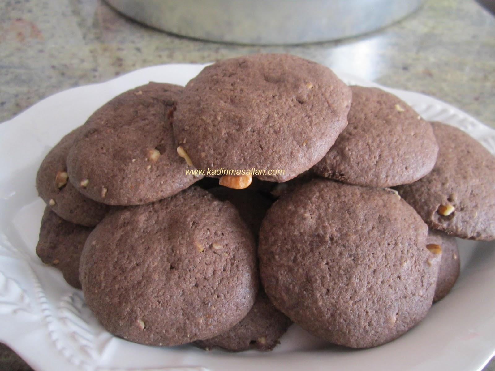 Kakaolu Fındıklı Kurabiye Tarifi