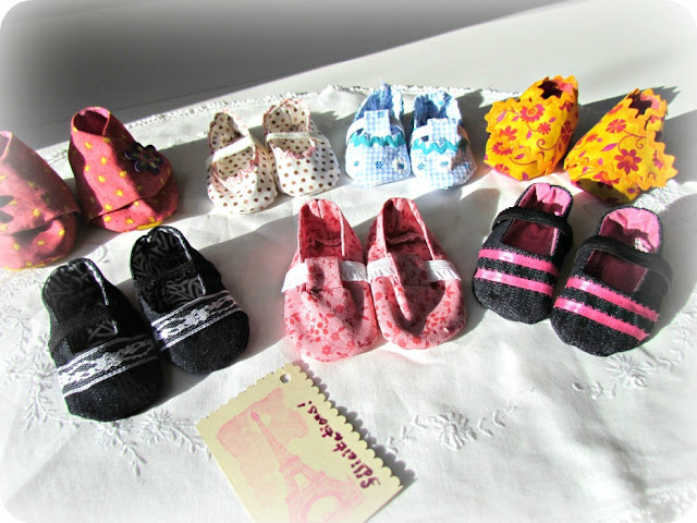 DIY baby booties, Baby Shoes, Handmade baby booties, Amy Butler Booties