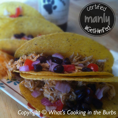 Crockpot Cheddar Beer Chicken Tacos from www.anyonita-nibbles.com