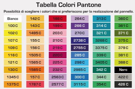 Pantone il suggeritore dei colori lo stile di artemide for Scala colori per pareti