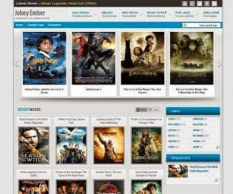 Download Gratis Johny Ember Blogger Template , Gallery , Blog , News