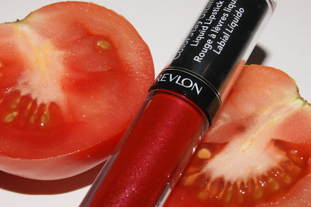 Revlon Ultimate Liquid Lipstick Top Tomato
