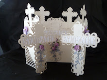 Sympathy Cross Door Card