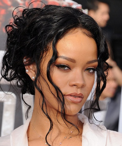 rihanna black hair rihanna hairtyles female actress
