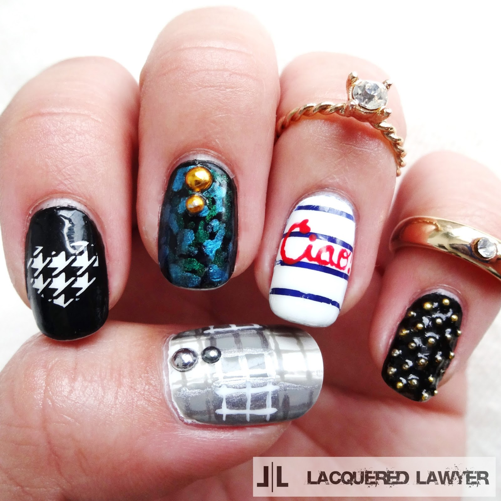 Fall Fashion Nail Art