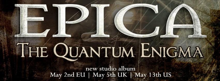 Logo de The Quantum Enigma nuevo disco de Epica