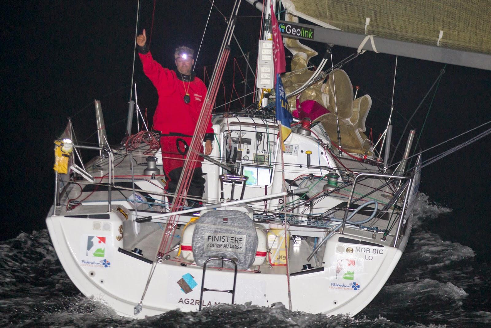 Yann Eliès remporte la Solo Basse Normandie (ici archives de La Solitaire 2014)