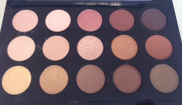 Mac Warm And Cool Eyeshadow Palettes