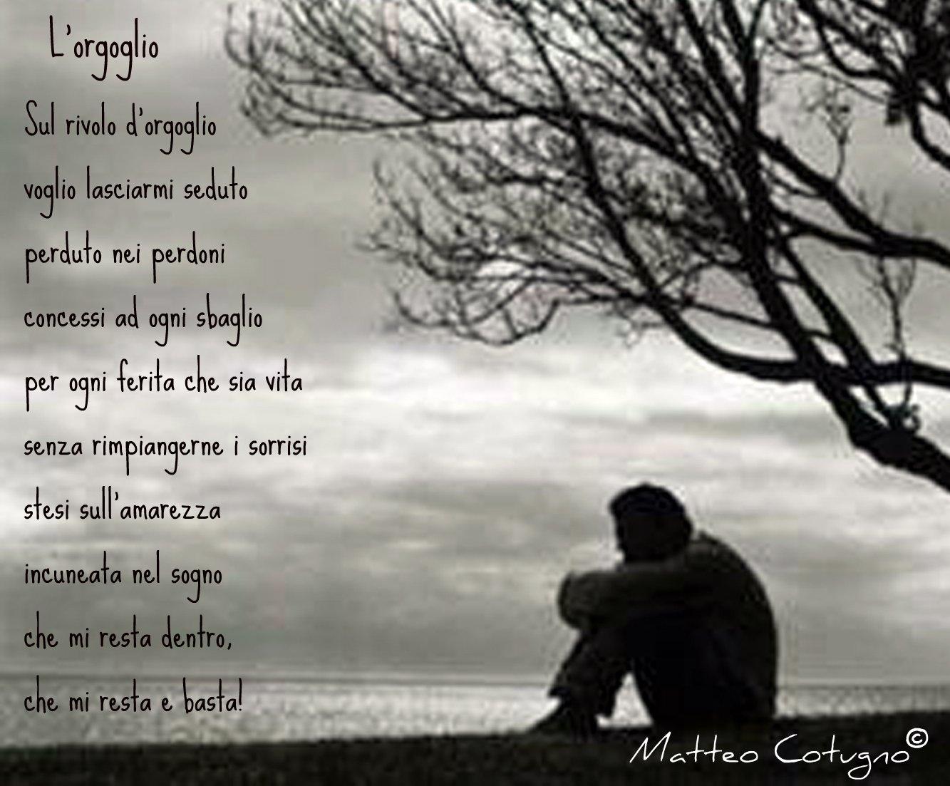 Poesie Di Matteo Cotugno Lorgoglio