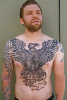 Almost Done With Andy's Chest Eagle, One Very Short Session Left To Go