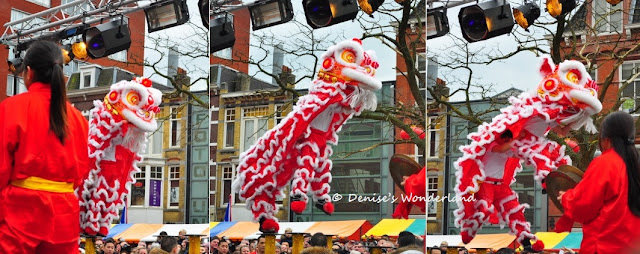 Lion Dance Jumping Sequence