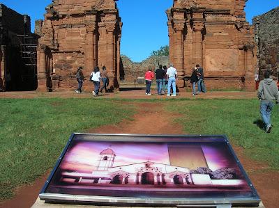 Ruinas Misión de San Ignacio, Misiones, Argentina, vuelta al mundo, round the world, La vuelta al mundo de Asun y Ricardo