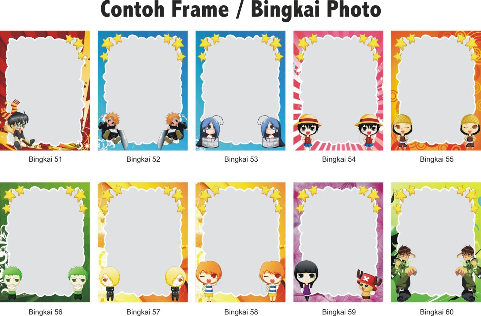 atas merupakan contoh frame photo yang lucu yang digunakan dalam frame ...