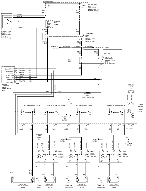 Wiring Diagrams 1996 Ford Explorer on fuse box on 95 honda accord