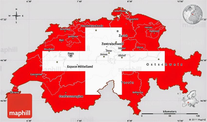 switzerland flag and symbol