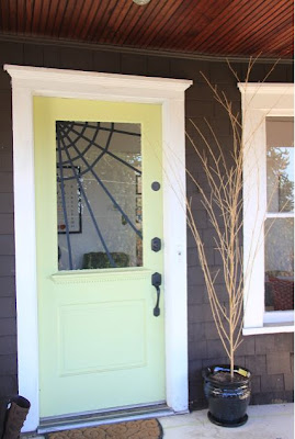 Spider Web Front Door