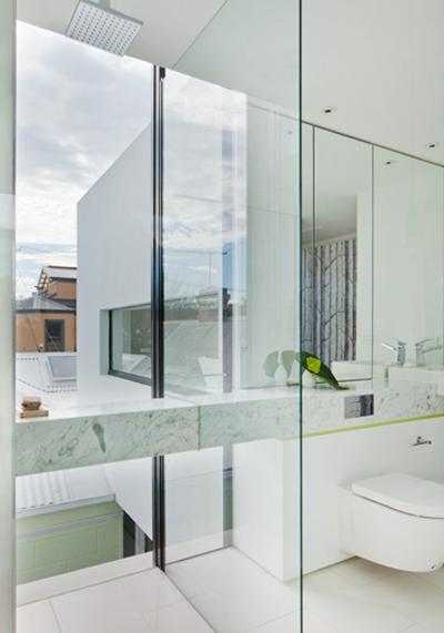 Ванная комната в модульном доме