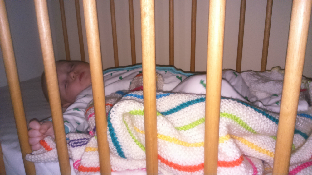 A Room of Her Own: Matilda sleeping