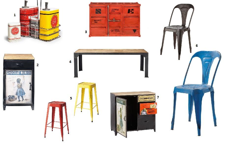 Home sweet home #1  Style vintage et industriel  LM et Compagnie -> Meuble Carlingue