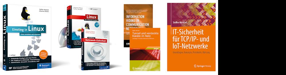 Bücher von Steffen Wendzel & Johannes Plötner