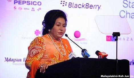 Bajet 2015 Kata Menteri Rosmah tak dapat SESEN pun dari PERMATA