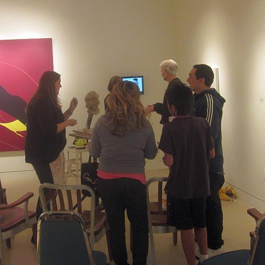 Karen Cope, One Gross Face, Torrance Art Museum