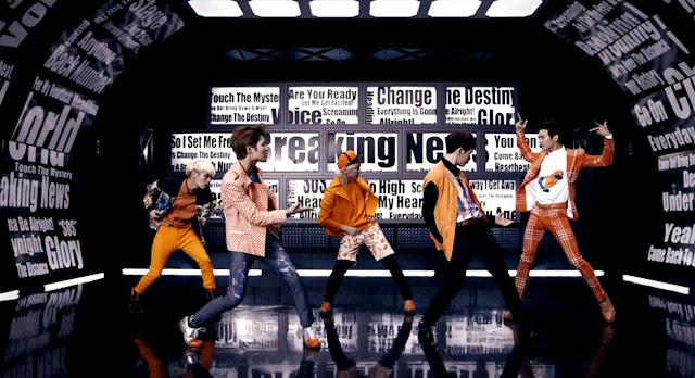 shinee breaking news short pv screencap #1