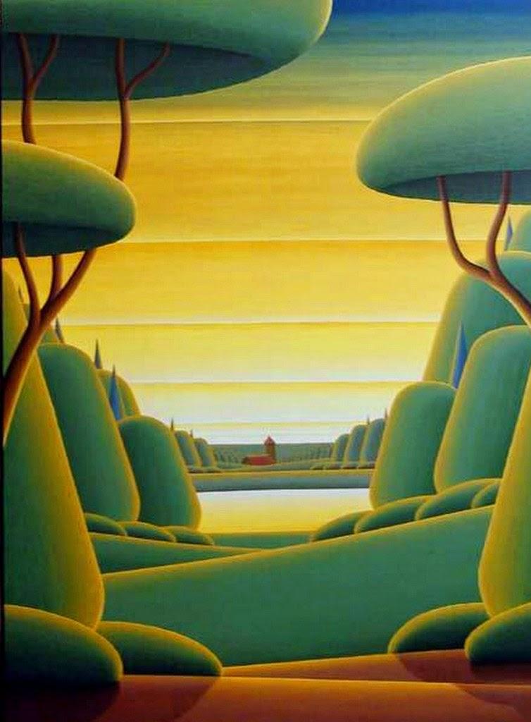 paisajes-primitivos-pintados-modernos