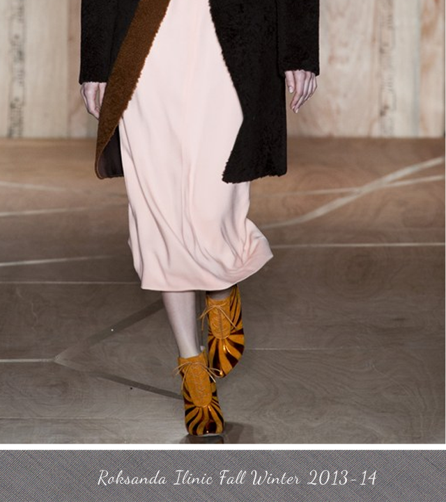 Roksanda Ilinic Fall Winter 2013-2014 Boots