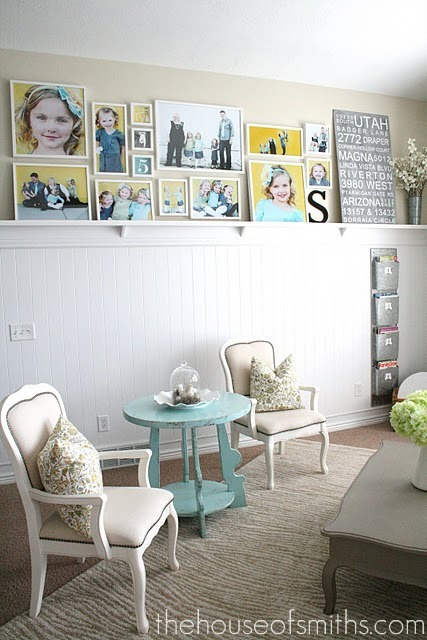 Gallery+Wall+Layout+with+IKEA+frames Features: Things that made me smile...