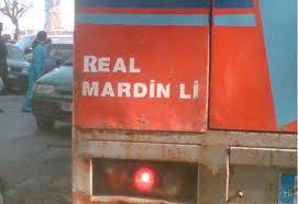 real mardinli kamyon şöförü