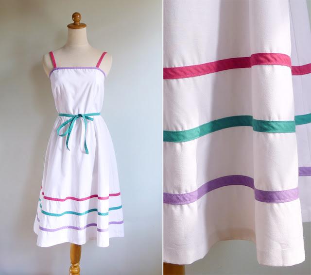 vintage 80's act I petites new york dress