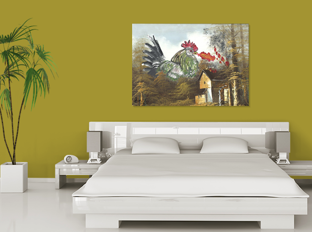 fire breathing chicken 2015 shoshanah marohn bedroom