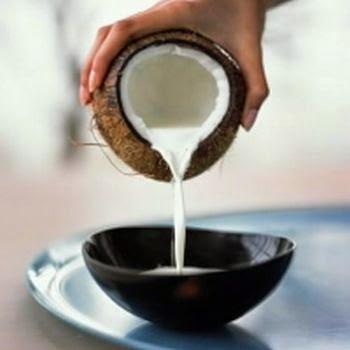 nutriçao com leite de coco