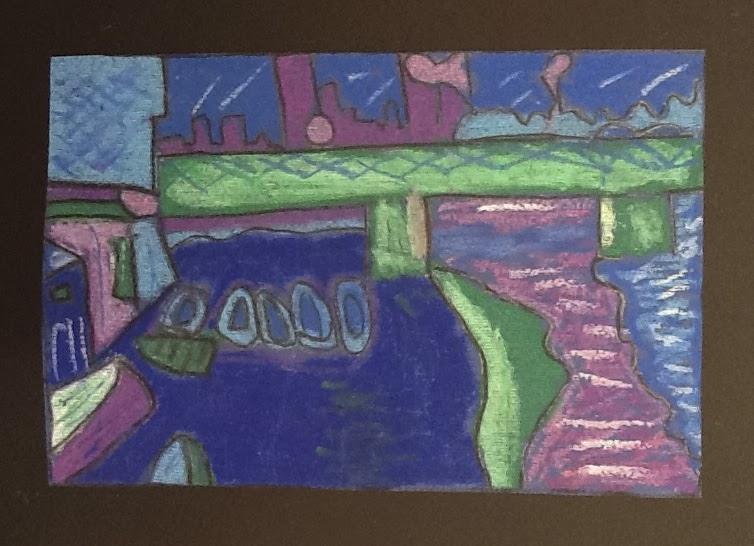 Arte in classe ancora colori caldi e freddi for Disegni a colori caldi