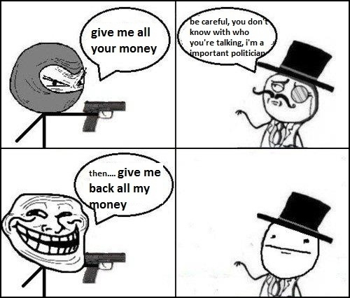Robbing The Robber