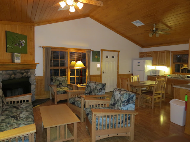 Cabin 6 at Shenandoah River State Park makes a great base camp for hiking in the park and in the Shenandoah National Park