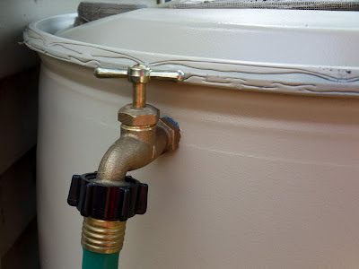 DIY Rain Barrel Overflow