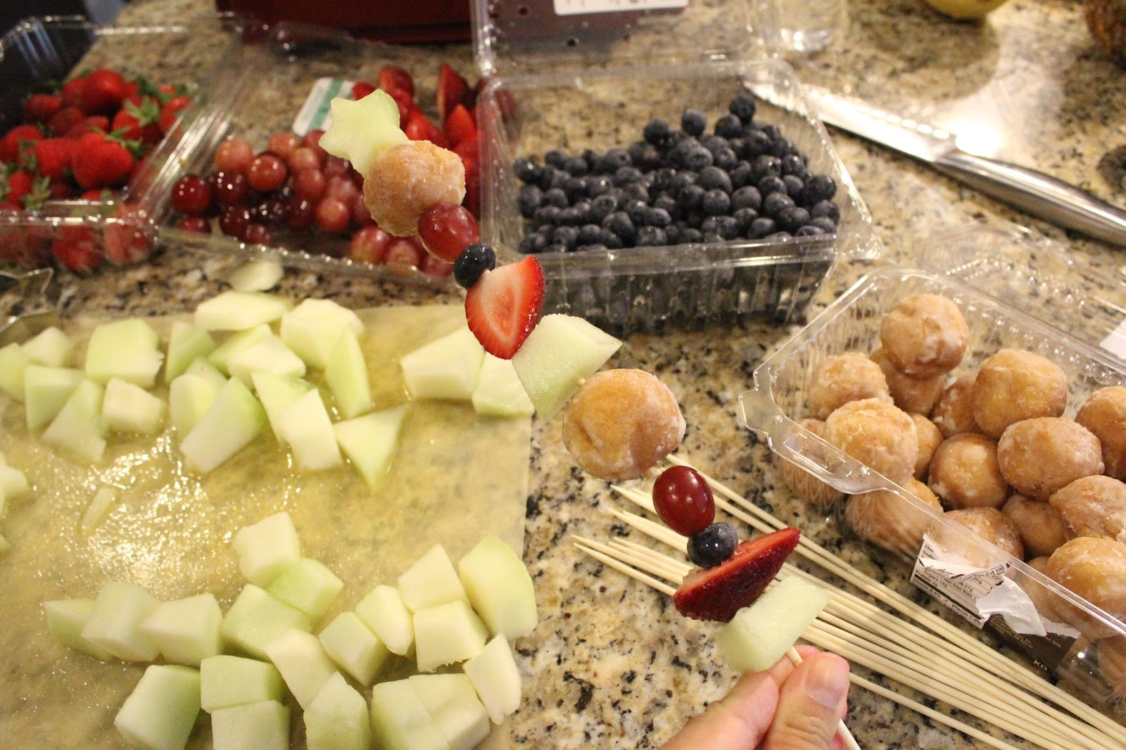 Descendants Family Movie Night And Easy Fruit Kabobs