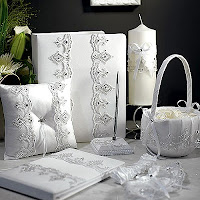 Royal Lace Wedding Accessories Set