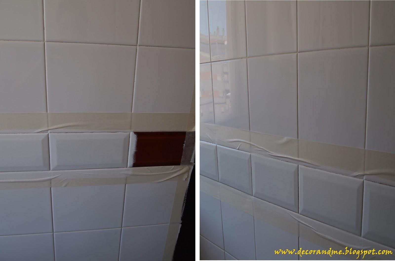 Decor me diy cambia tu cocina por poco dinero - Pinturas para pintar azulejos ...