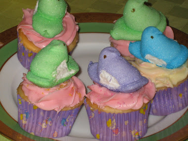 Easter Chicky Cupcakes