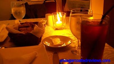 Le Bistro D'Agathe candlelit dinner