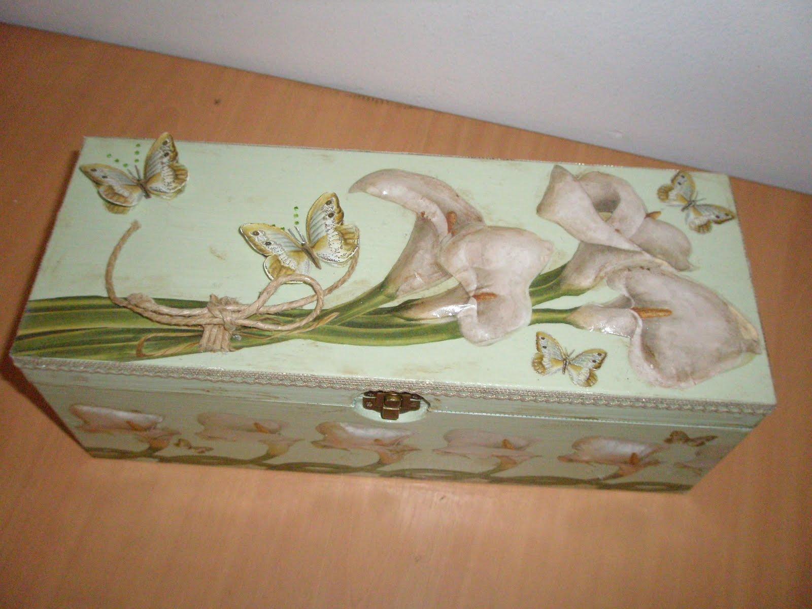 Scrap possibilities scatola con il mazzo di calle for Mazzo per esterni in legno