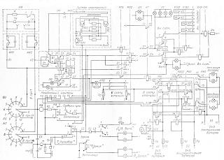 Принципиальная схема станции пожарной сигнализации ТОЛ-10/50-С