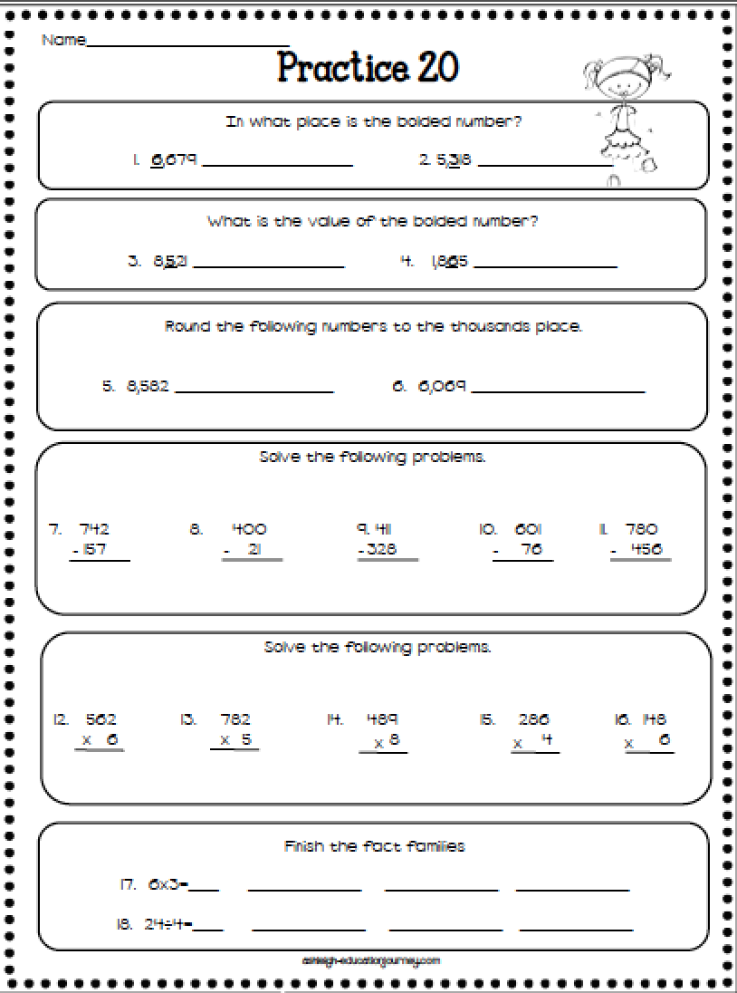 Skills Worksheets Davezan – Basic Skills Math Worksheets