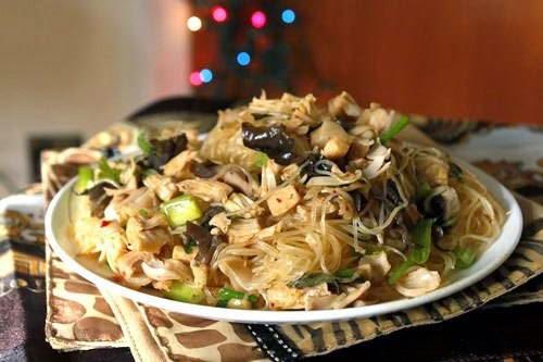 Vietnamese Noodle Recipes - Miến Xào Mít Non